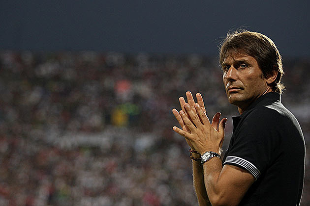 Antonio Conte the coach of FC Juventus