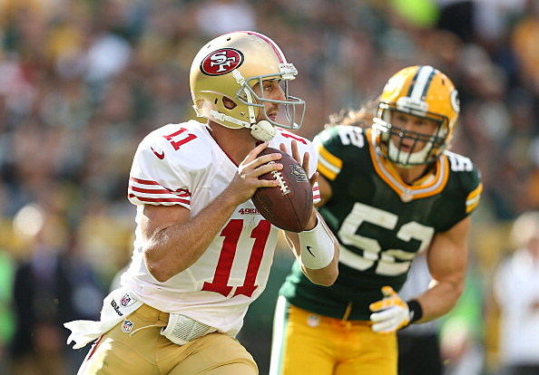 Alex Smith #11 of the San Francisco 49ers