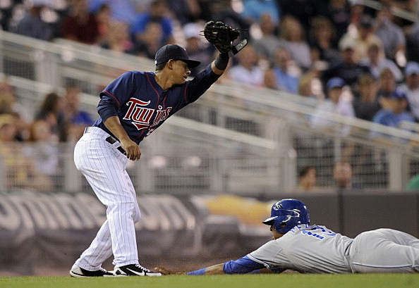 Eduardo Escobar #5 of the Minnesota Twins
