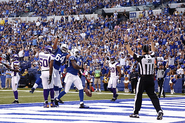 Minnesota Vikings v Indianapolis Colts