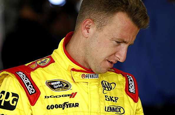 AJ Allmendinger, driver of the #22 Shell/Pennzoil Dodge