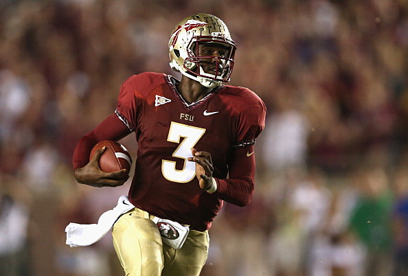EJ Manuel #3 of the Florida State Seminoles