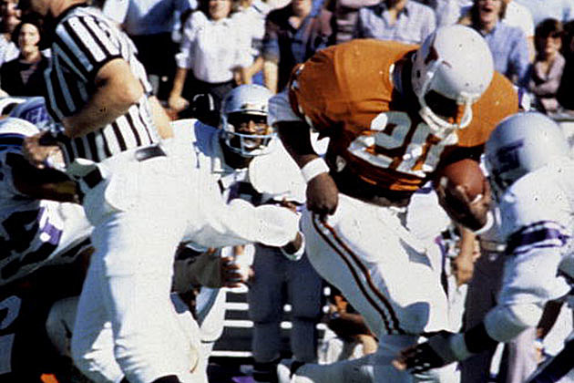 Earl Campbell of the University of Texas Longhorns