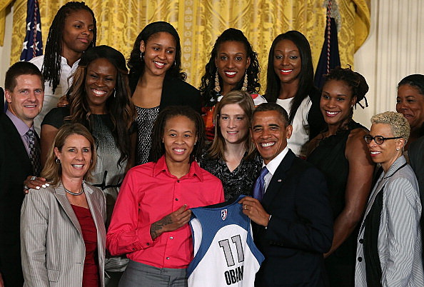 President Obama Host The WNBA Champions Minnesota Lynx