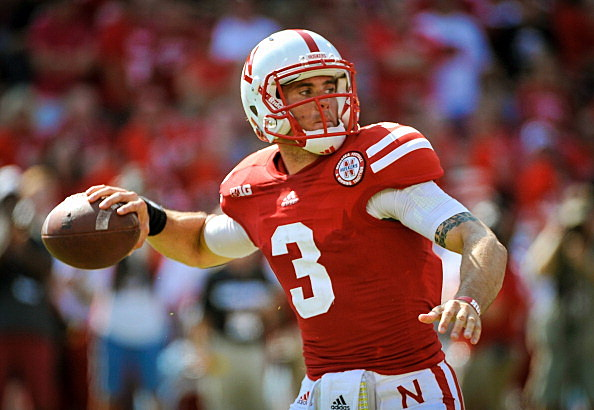 Quarterback Taylor Martinez #3 of the Nebraska Cornhuskers