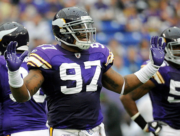Everson Griffen #97 of the Minnesota Vikings