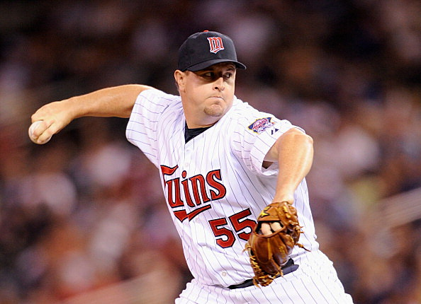 Matt Capps #55 of the Minnesota Twins