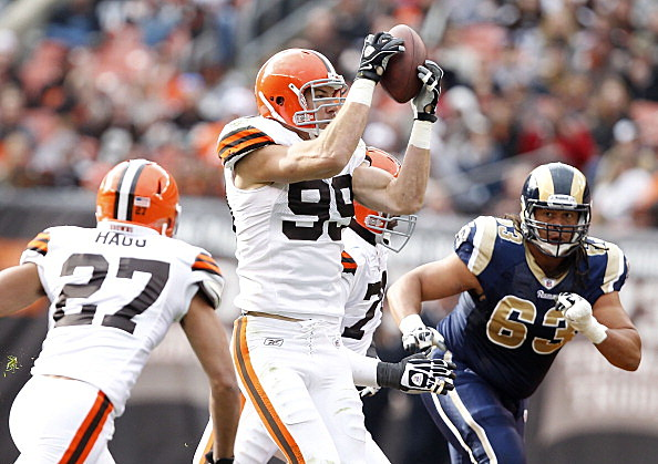 Linebacker Scott Fujita #99 of the Cleveland Browns