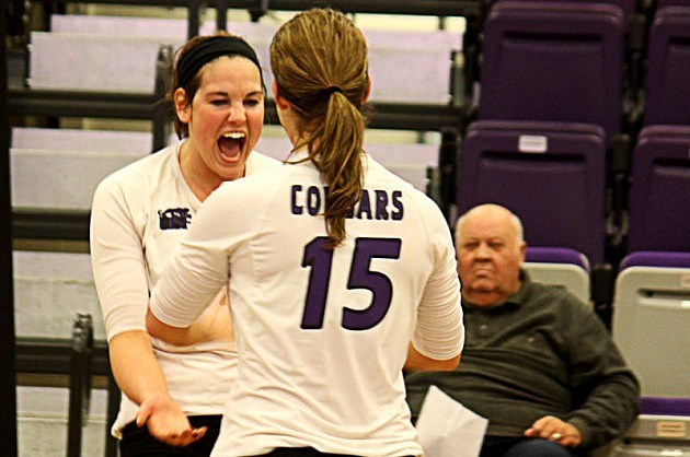 University of Sioux Falls Cougars volleyball