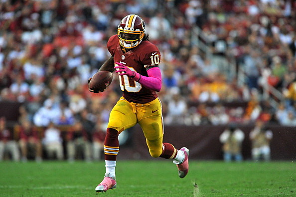 Washington quarterback Robert Griffin III