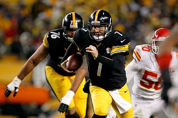 Ben Roethlisberger #7 of the Pittsburgh Steelers