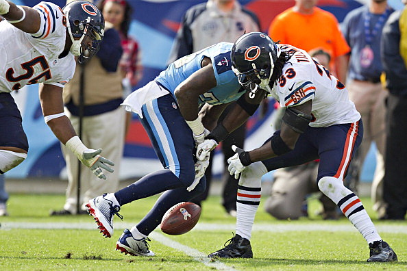 Charles Tillman #33 of the Chicago Bears