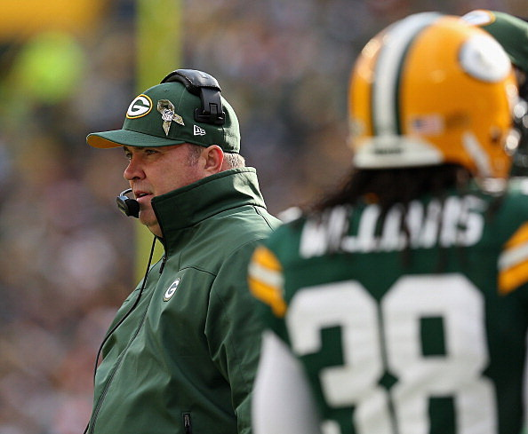 Green Bay Packers head coach Mike McCarthy