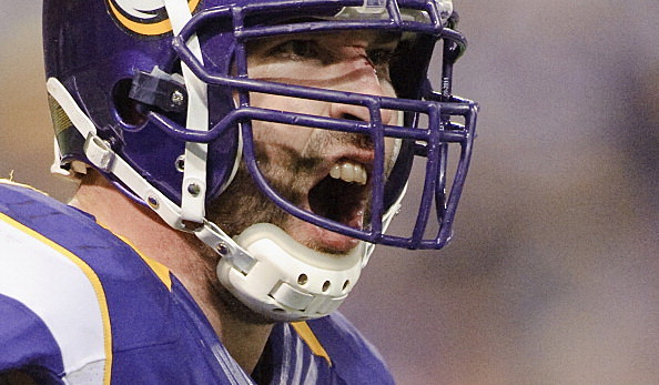 Jared Allen #69 of the Minnesota Vikings
