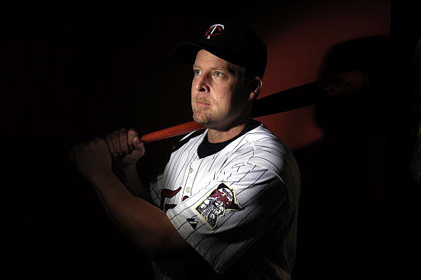 Catcher Mike Redmond of the Minnesota Twins