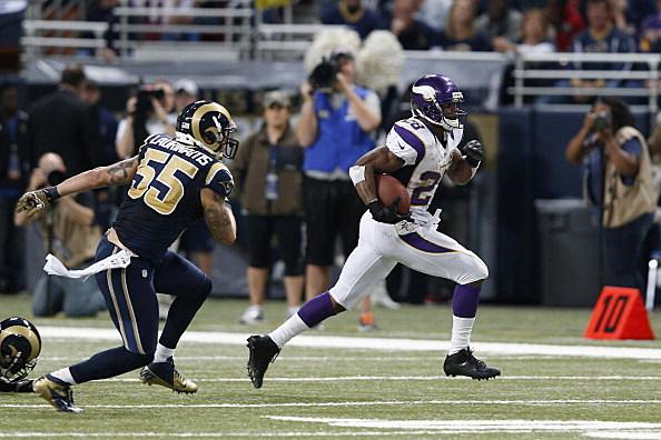 Adrian Peterson, Minnesota Vikings