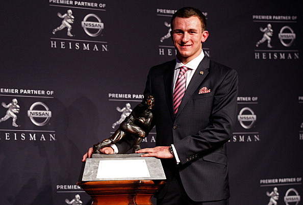Johnny Manziel, Texas A&M Aggies, Heisman Trophy