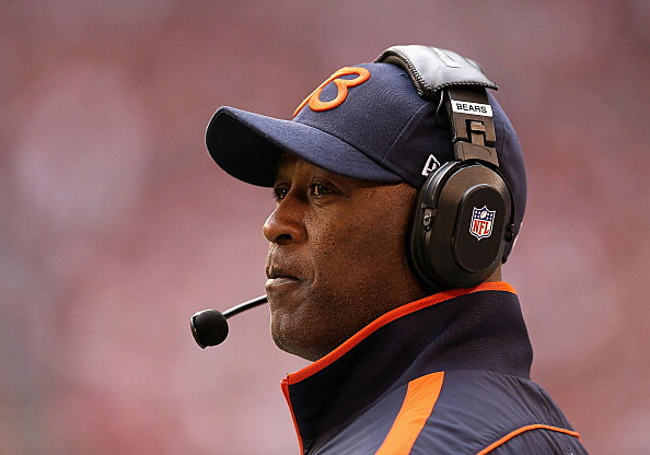 Head coach Lovie Smith of the Chicago Bears