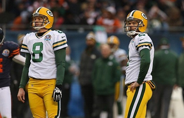 Tim Masthay and Mason Crosby, Green Bay Packers
