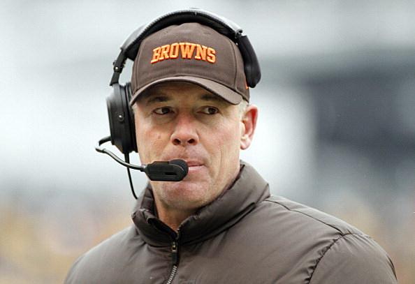 Head coach Pat Shurmur of the Cleveland Browns