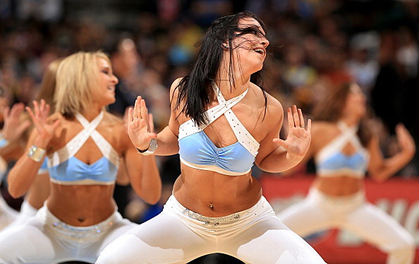 The Denver Nuggets Dancers
