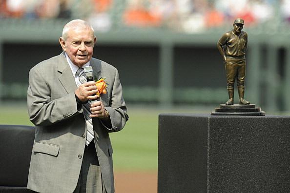 Former Baltimore Orioles manager Earl Weaver