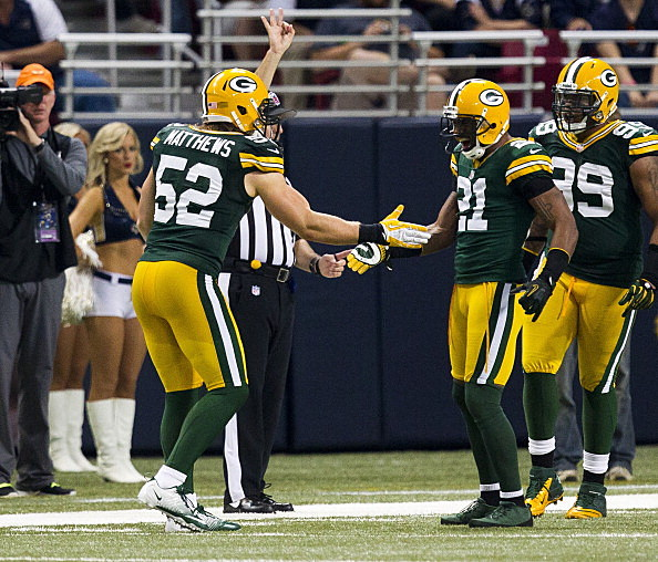 Clay Matthews and Charles Woodson, Green Bay Packers