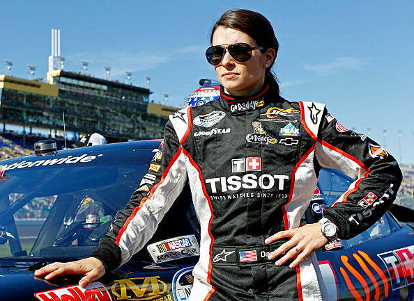 Danica Patrick, driver of the #7 Tissot/GoDaddy.com Chevrolet