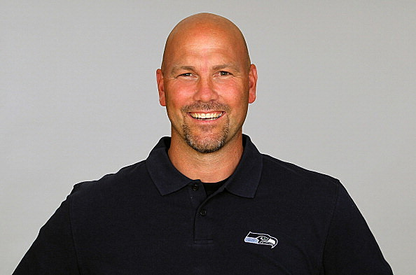 Gus Bradley of the Seattle Seahawks