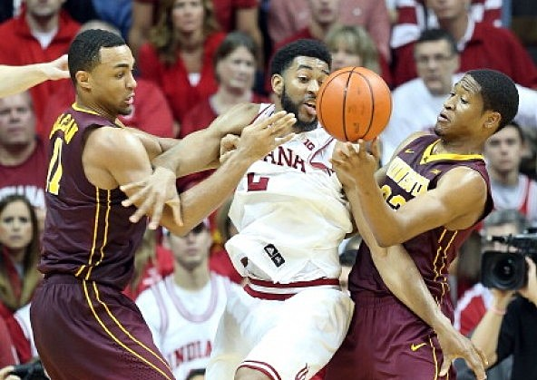 Christian Watford #2 of the Indiana Hoosiers