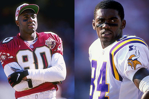 Jerry Rice vs. Randy Moss
