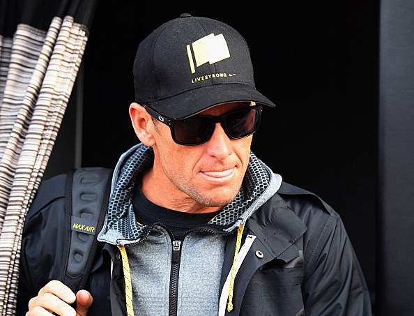 Lance Armstrong, 2012 Paris - Roubaix Cycle Race