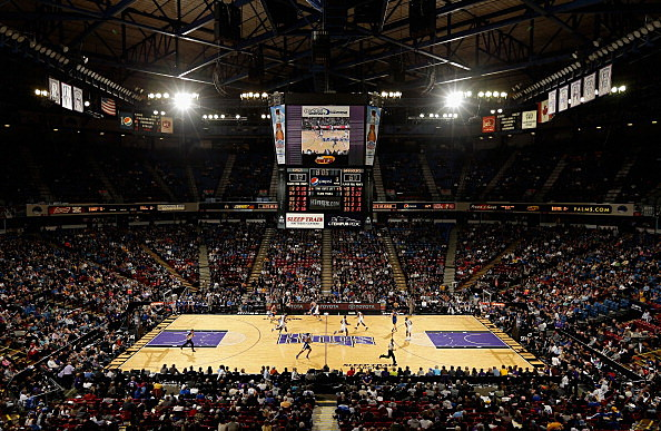 A general view of the Sacramento Kings