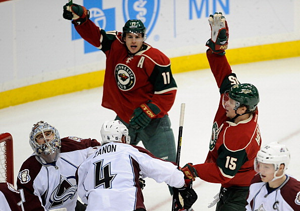 Zach Parise and Dany Heatley, Minnesota Wild