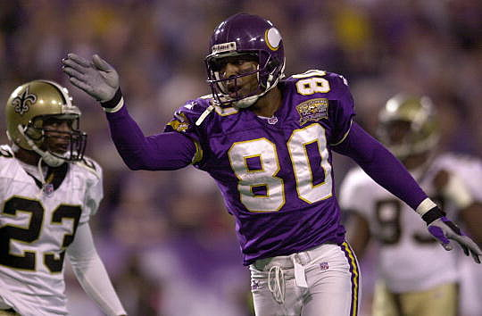 Cris Carter, Minnesota Vikings, Pro Football hall of Fame
