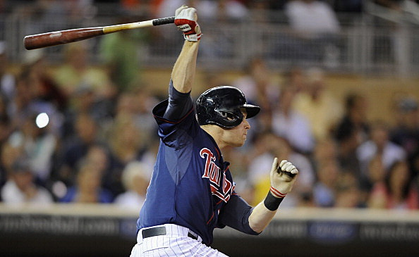 Justin Morneau #33 of the Minnesota Twins