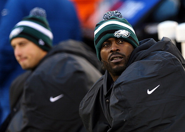 Michael Vick #7 of the Philadelphia Eagles