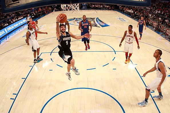 Ricky Rubio, Minnesota Timberwolves, 2012 Rising Stars Challenge