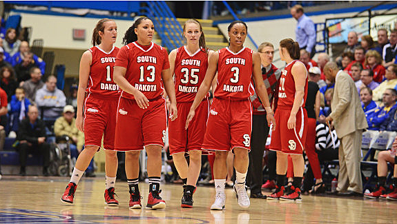 University of South Dakota Coyotes women's basketball