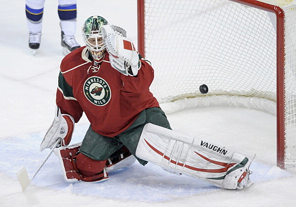 Niklas Backstrom, Minnesota Wild vs St. Louis Blues, 04-11-2013