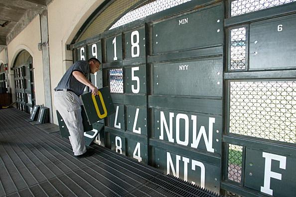 Baseball Scoreboard, Pac Bell Park