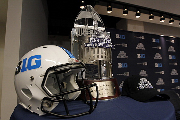 Pinstripe Bowl Trophy
