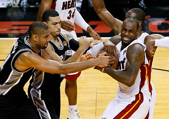 San Antonio Spurs at Miami Heat Box Score, June 18, 2013 ...