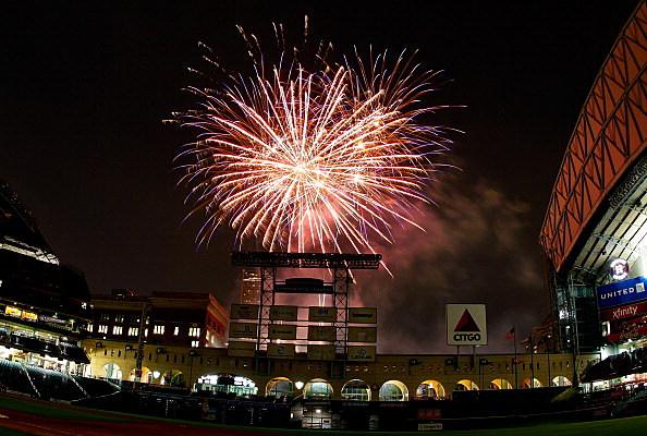 Fireworks, Minute Maid Park