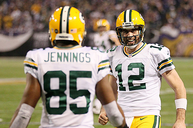 Greg Jennings, Aaron Rodgers, Green Bay Packers