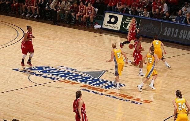 South Dakota State vs University of South Dakota, 2013 Summit League Women's Basketball Championship