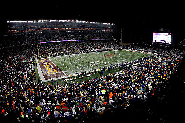 University of Minnesota Footbal Stadium