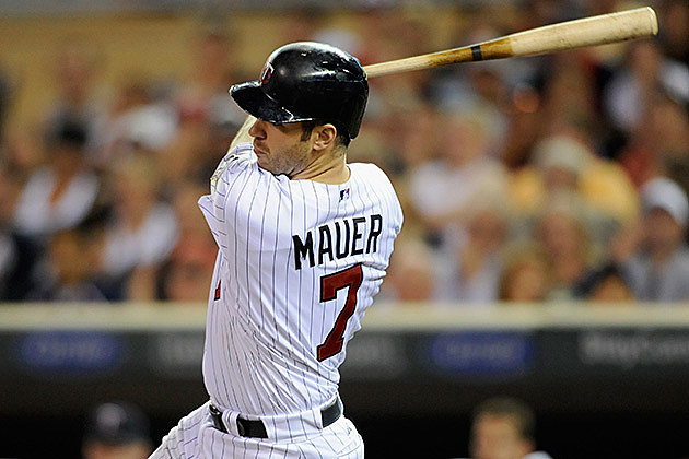 FILE: Joe Mauer, Minnesota Twins