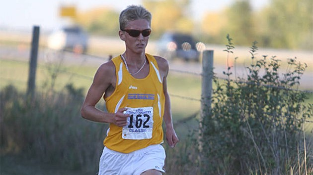 Trent Lusignan, South Dakota State Jackrabbits, cross country