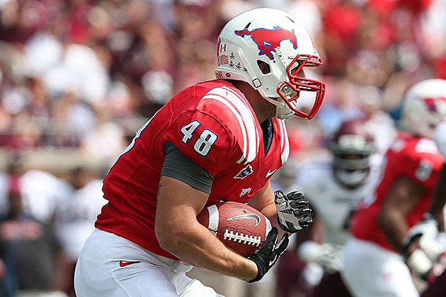 FILE: Zach Line, SMU, Minnesota Vikings